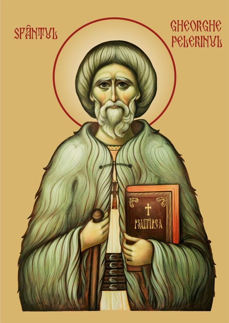 Icoana Sfantul Gheorghe Pelerinul